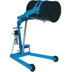 "Morse® Mobile Drum Lift and Tilt 400A-72-125 12V 72"" High Dispensing for 55 Gal Drum"