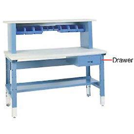 "7"" H Locking Work Bench Drawer - Putty"