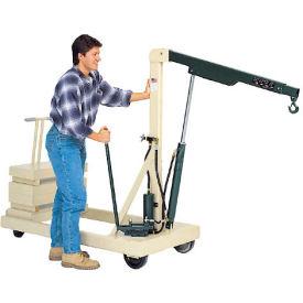 Beech® Reversed Telescopic Boom Floor Crane B-2000CW 2000 Lb. Capacity