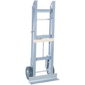 "Aluminum Appliance Hand Truck 750 Pound Capacity 6"" Mold-On Rubber Wheels"