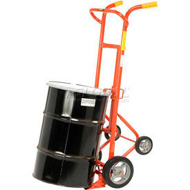 Wesco® Drum Truck With Four Wheels 240001 for 30 & 55 Gallon Steel Drums