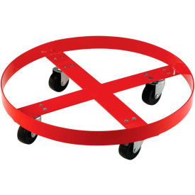 Drum Dolly for 55 Gallon Drum - Steel Wheels 1000 Lb. Capacity