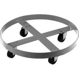 Stainless Steel Drum Dolly for 30 Gallon Drum