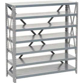 Steel Open Shelving 7 Shelves No Bin - 36x18x39