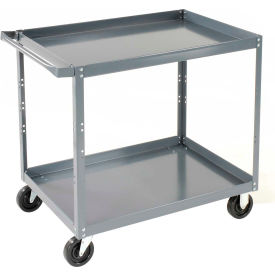 Edsal SC1801 2 Shelf Steel Stock Cart 36 x 24
