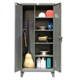 Strong Hold® Heavy Duty Maintenance Storage Cabinet 60x24x78