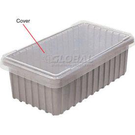Dandux Snap-On Cover 50B1805LN for Modular Dividable Grid Box, 17-3/4x5-1/2, Clear