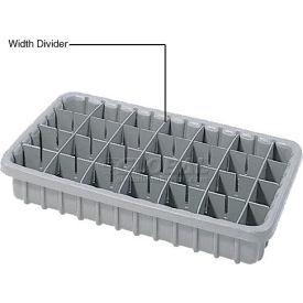 Dandux Width Divider 50P0010027 for Dividable Nesting Box 50P1811030, Gray