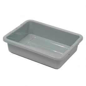 """Rubbermaid 3349-92 Bus Utility Tote Box Without Lid 20""""L x 15""""W x 5""""H"""