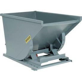 Wright 20055 2 Cu Yd Gray Medium Duty Self Dumping Forklift Hopper