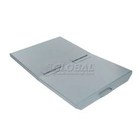 Lid for 1-1/2 Cu Yd Wright Gray Self Dumping Hopper