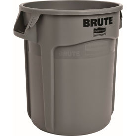 Rubbermaid Brute® 2610 Trash Container 10 Gallon - Gray