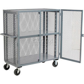 Jamco Security Clearview Truck VR248 with Adjustable Shelf 49 x 26 2500 Lb. Cap.