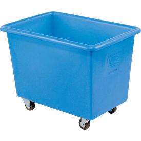 Dandux Blue Plastic Box Truck 51126006U-3S 6 Bushel Medium Duty