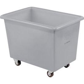 Dandux Gray Plastic Box Truck 51126006A-3S 6 Bushel Medium Duty