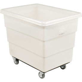 Dandux White Plastic Box Truck 51126012N-3S 12 Bushel Medium Duty