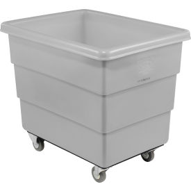 Dandux Gray Plastic Box Truck 51126012A-3S 12 Bushel Medium Duty