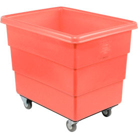 Red Plastic Box Truck 14 Bushel Medium Duty