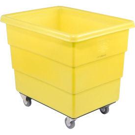 Dandux Yellow Plastic Box Truck 51126014Y-3S 14 Bushel Medium Duty
