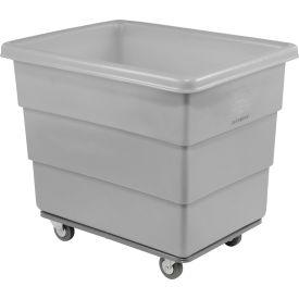 Dandux Gray Plastic Box Truck 51116012A-4S 12 Bushel Heavy Duty