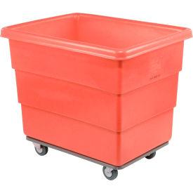 Dandux Red Plastic Box Truck 51116014R-4S 14 Bushel Heavy Duty