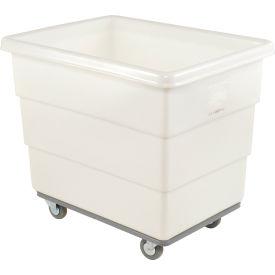 Dandux White Plastic Box Truck 51116016N-4S 16 Bushel Heavy Duty