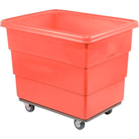 Dandux Red Plastic Box Truck 51116016R-4S 16 Bushel Heavy Duty