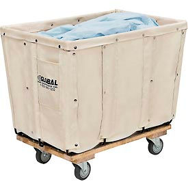 Best Value 8 Bushel Canvas Basket Bulk Truck