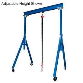 Vestil Steel Gantry Crane FHS-4-15 10' Fixed Height 4000 Lb. Capacity