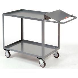 Jamco 2 Shelf Order Picking Cart SO136 36x18 Tray Top Shelf