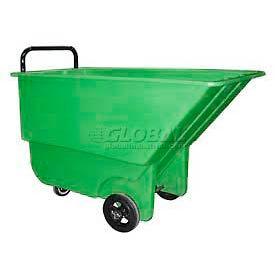 Bayhead Products Green Light Duty 1/3 Cubic Yard Tilt Truck 275 Lb. Capacity