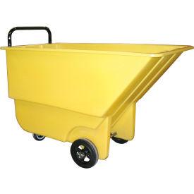 Bayhead Products Yellow Light Duty 1/3 Cubic Yard Tilt Truck 275 Lb. Capacity