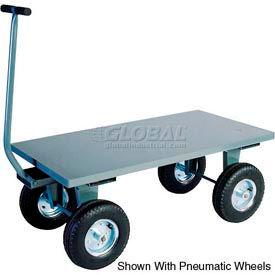 "Jamco Steel Deck Wagon Truck TV236 36""L x 24""W with Flush Deck"