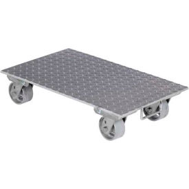 """Vestil Aluminum Dolly PDA-1627-C-S-H 27""""L x 16""""W with Solid Deck & Steel Wheels"""