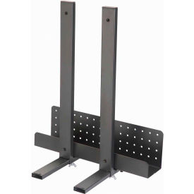 Adjustable Width CPU Holder for Adjustable Steel Workstation
