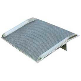 Vestil Aluminum Dock Board with Aluminum Curbs BTA-10007272 72x72 10,000 Lb. Cap