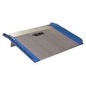Bluff® AC6048 Aluminum Dock Board with Steel Curbs 60 x 48 10,000 Lb. Cap.