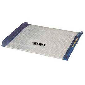 Bluff® BC6048 Aluminum Dock Board with Steel Curbs 60 x 48 15,000 Lb. Cap.