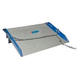 Bluff® 10SC6072 Steel Dock Board with Steel Curbs 60 x 72 10,000 Lb. Cap.