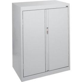 Sandusky System Series Counter Height Storage Cabinet HF2F301842 - 30x18x42, Gray