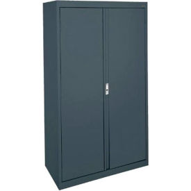 Sandusky System Series Storage Cabinet HA3F361864 Double Door - 36x18x64, Charcoal