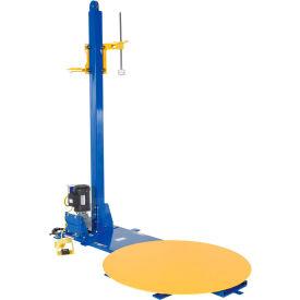 Vestil Semi-Automatic Stretch Wrap Machine W/Manual Stretch Wrap Film Mast, SWA-48, 4000 Lb Capacity
