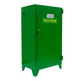 Pesticide Cabinet Self-Close Single Door Vertical Storage