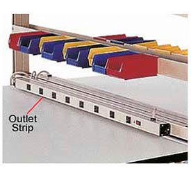 """60""""W 8 Outlet Power Strip"""