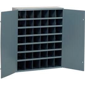 Durham Steel Storage Parts Bin Cabinet 360-95 With Doors - 42 Compartments