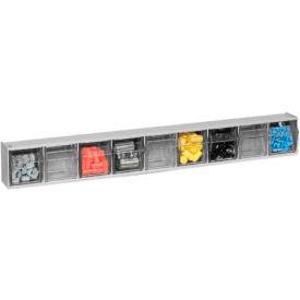 Quantum Tilt Out Storage Bin QTB309- 9 Compartments Gray