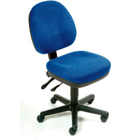 Task Chair - Fabric - Blue
