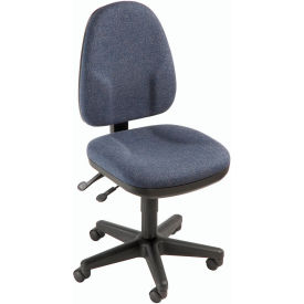 Multifunction Office Chair - Fabric - Blue