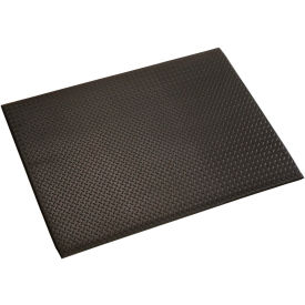Diamond Plate 1/2 Inch Thick Mat 24x36 Black