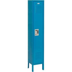 Infinity™ Locker Single Tier 12x12x72 1 Door Ready To Assemble Blue